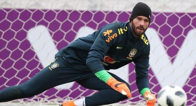 Alisson será o capitão da seleção brasileira no amistoso contra a Rússia
