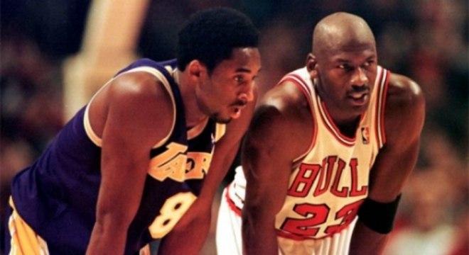 All-Star Game 1998 - Kobe Bryant e Michael Jordan