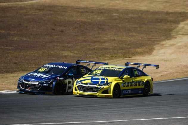 Allam Khodair e Daniel Serra tiveram boa disputa na corrida 1