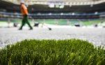 Allianz Parque, grama artificial, Palmeiras
