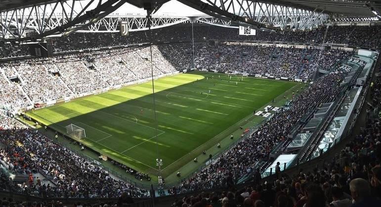 O Allianz Stadium da Juventus