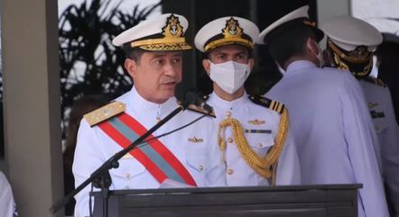 Garnier assumiu lugar de Ilques Barbosa na Marinha