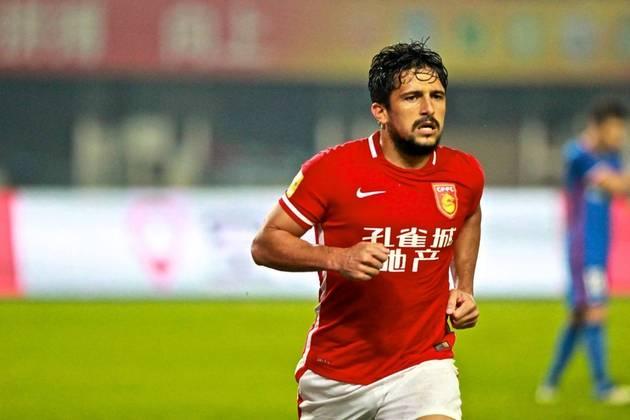 Aloísio, do  Guangzhou Evergrande, está na China. (Atacante, 31 anos - Contrato com o clube atual válido até dezembro de 2022.)