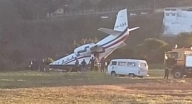 Avião com DJ Alok saiu da pista em Juiz de Fora