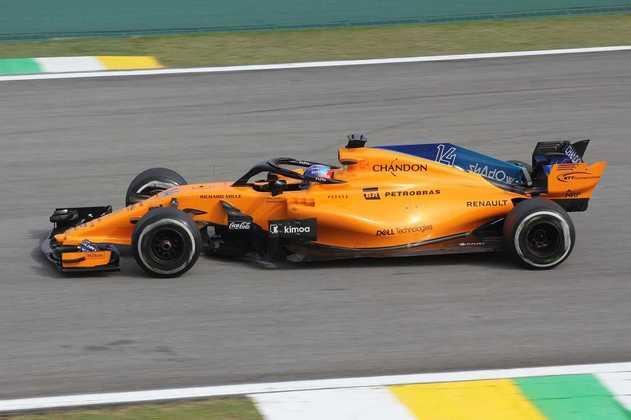Alonso dividiu a McLaren com Button e também Stoffel Vandoorne