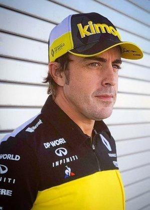 Alonso corre agora pela Alpine