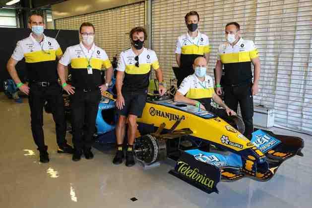 Alonso retorna ao grid da F1 pela Renault em 2021.