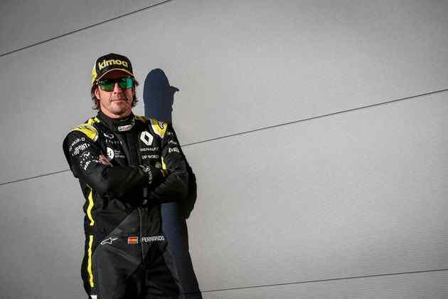 Alonso tem contrato de duas temporadas com a Renault, que vira Alpine a partir de 2021