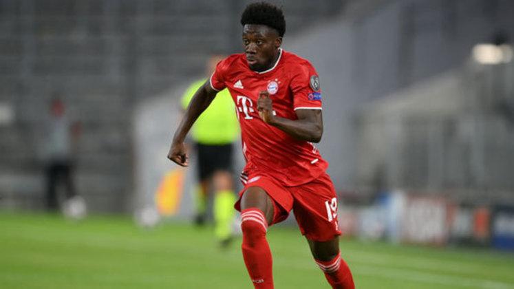 Alphonso Davies - 20 anos: Apontado por muitos como o melhor lateral-esquerdo do mundo atualmente, o jogador do Bayern de Munique teve grande destaque na tríplice coroa da equipe bávara.