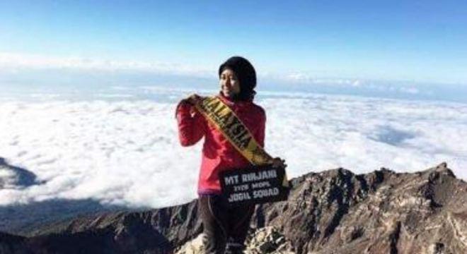 Alpinista da Malásia Siti Nur Iesmawida Ismail morreu durante terremoto na Indonésia