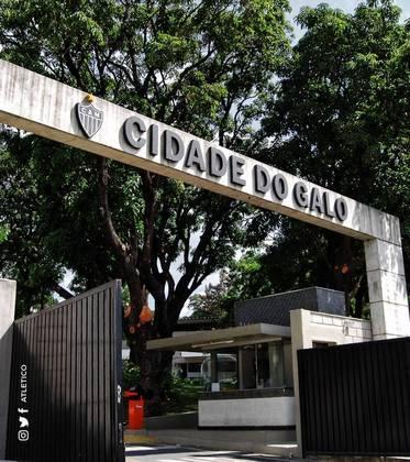 Altético-MG - Cidade do Galo: Os atletas contam com uma verdadeira cidade à sua disposição, que leva o nome do mascote do clube mineiro