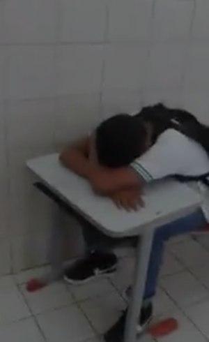 Estudante sofre violência