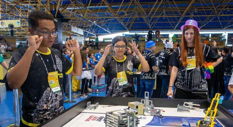 Torneio Sesi de robótica foi aberto nesta sexta-feira (7) virtualmente