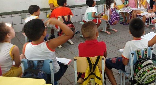 Alunos da rede municipal de Sobral; cidade cearense tem conseguido dar educação de qualidade com níveis adequados de igualdade Capacitar todos os jovens é uma questão econômica