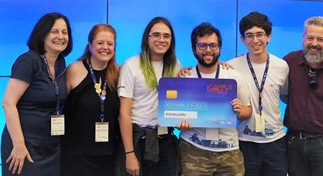 Robosquadrão é vencedor da categoria educação na 7ª edição da Campus Mobile