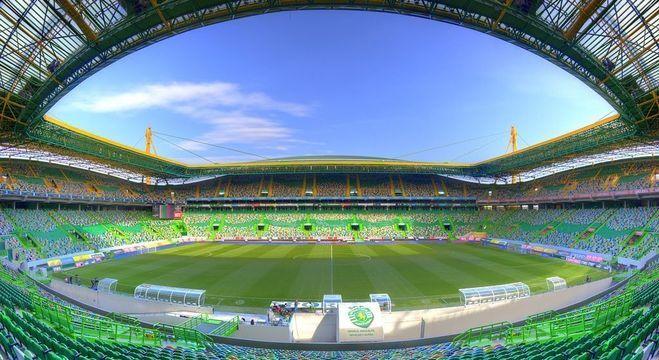 O Estádio José Alvalade, do Sporting de Lisboa