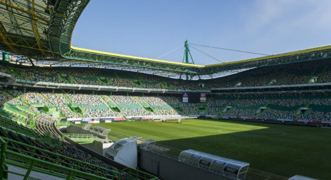 O Estádio Alvalade, do Sporting, em Lisboa