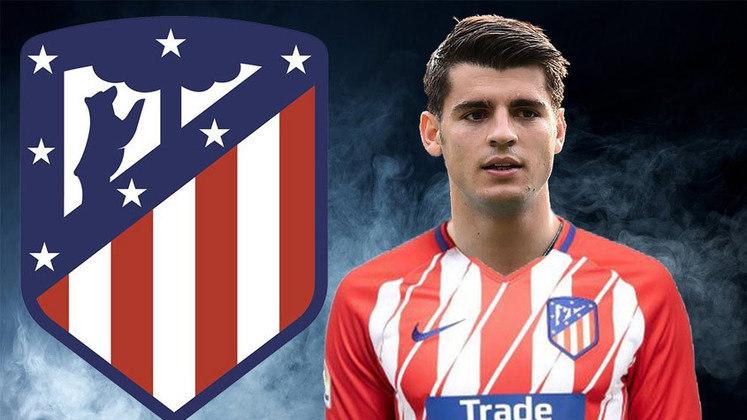 ÁLVARO MORATA - O Atlético de Madrid pagou R$ 353 milhões pelo atacante ao Chelsea (56 milhões de euros.