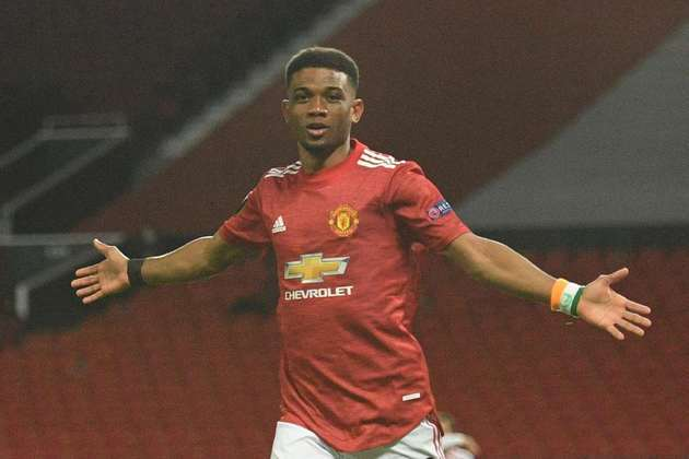 Amad Diallo (18 anos) - Posição: lateral - Clube: Manchester United.