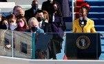 """Vimos uma força que destruiria nossa nação em vez de compartilhá-la, destruiria nosso país se significasse atrasar a democracia"""", declarou ela em um discurso de quase cinco minutos. 'E esse esforço quase teve sucesso. Mas, embora a democracia possa ser adiada periodicamente, ela nunca poderá ser derrotada para sempre.'"""