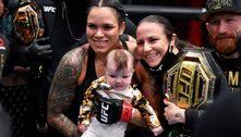 Cinturões, filha, esposa. Amanda Nunes usa UFC contra preconceito