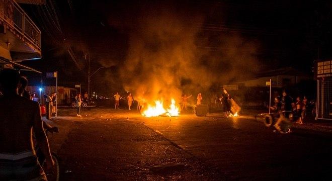 Moradores de Macapá protestaram durante a semana após apagão