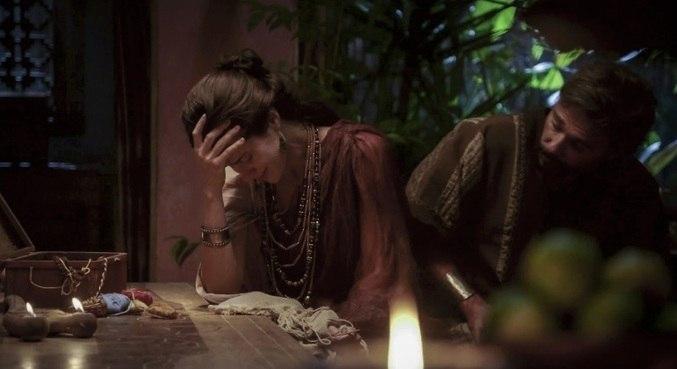 Terá diz para Amat que não irá se casar com Danina