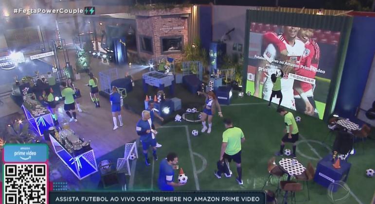 Os casais ficaram encantados com a Festa e se divertiram muito com Premiere do Amazon Prime Video