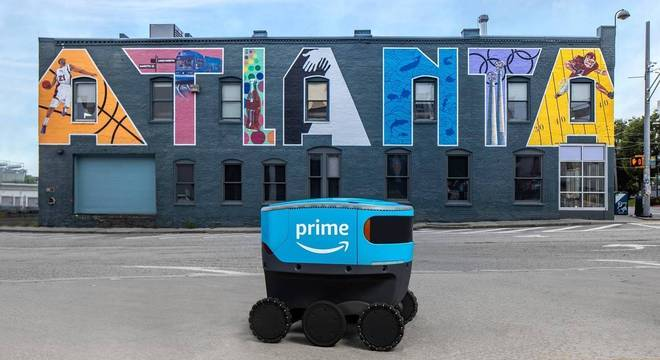 Amazon amplia a atuação de robô autônomo em entregas nos EUA