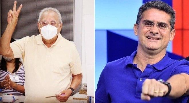 Amazonino Mendes (Podemos) e David Almeida (Avante) disputarão 2º em Manaus