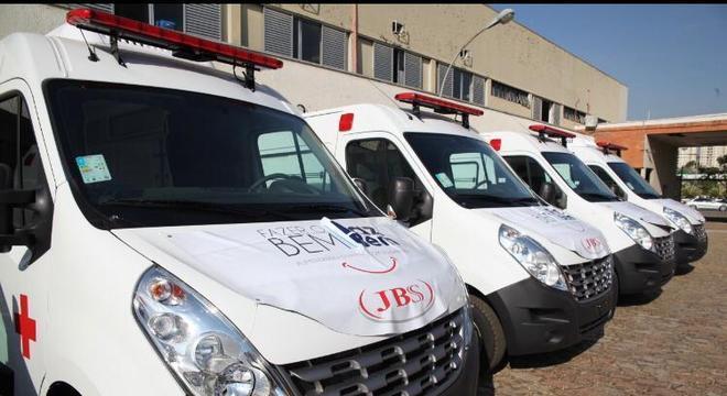 JBS doa ambulâncias para ajudar cidades no combate ao coronavírus