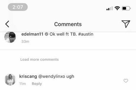 Usuário fez ameaça no Instagram de Edelman