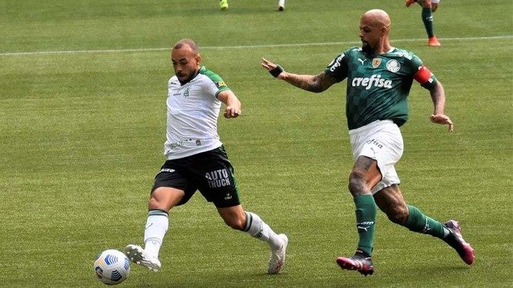 América-MG - Fez um grande primeiro tempo, dominando e conseguindo marcar um gol. No entanto, perdeu um pênalti e foi para o segundo tempo com o empate. Na etapa final, ficou satisfeito com o empate, chamou o Palmeiras e foi castigado com o gol sofrido nos acréscimos.