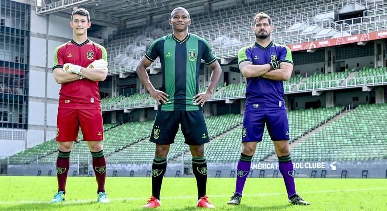 América-MG divulga novo uniforme para temporada 2021