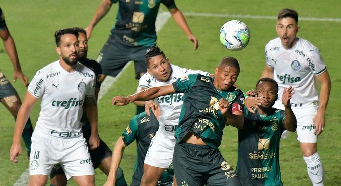 América-MG e Palmeiras fizeram jogo disputado no Independência