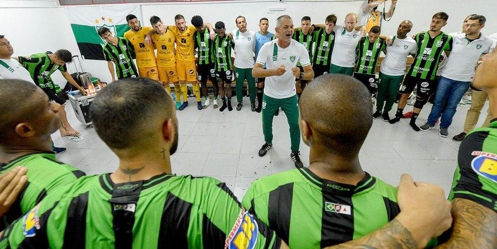 O competitivo e imprevisível América Mineiro de Lisca Doido. Adversário do Corinthians