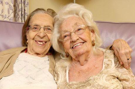 Olive e Kathleen são amigas há quase 80 anos