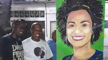 """__""""Marielle estava sempre na linha de frente dos policiais"""", diz amigo__ (Fabíola Perez / R7)"""