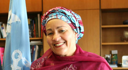 Amina Mohamed, secretária-geral adjunta da ONU