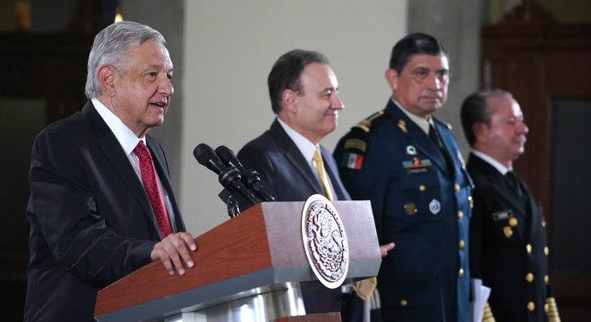 López Obrador foi duramente criticado por ter soltado o filho de 'El Chapo'
