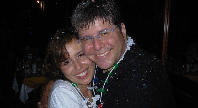 Airton e Maria Gontow se conheceram em um baile de Carnaval em 2008
