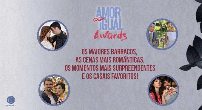 Vote e escolha os vencedores de Amor Sem Igual Awards