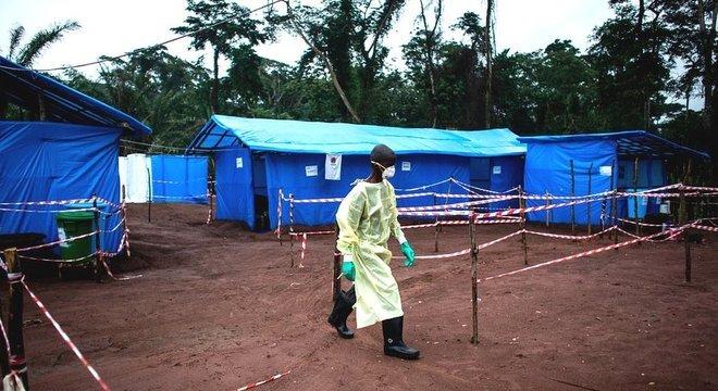 O último surto de Ebola ocorreu no Congo em 2017 e matou quatro pessoas