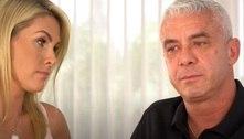 Marido de Ana Hickmann chora e diz que tem medo do câncer voltar