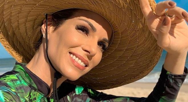 Ana Furtado perdeu 40 % dos fios