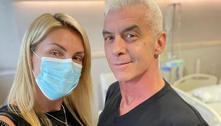 Ana Hickmann apoia marido em tratamento contra câncer: 'Força'