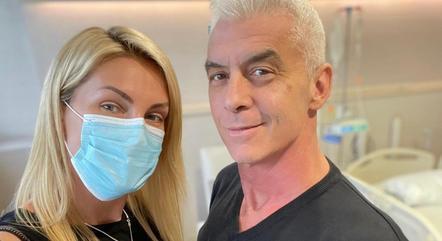 Ana Hickmann mostrou tratamento do marido