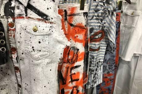Tico Canato customizou peças da marca Ana Hickmann