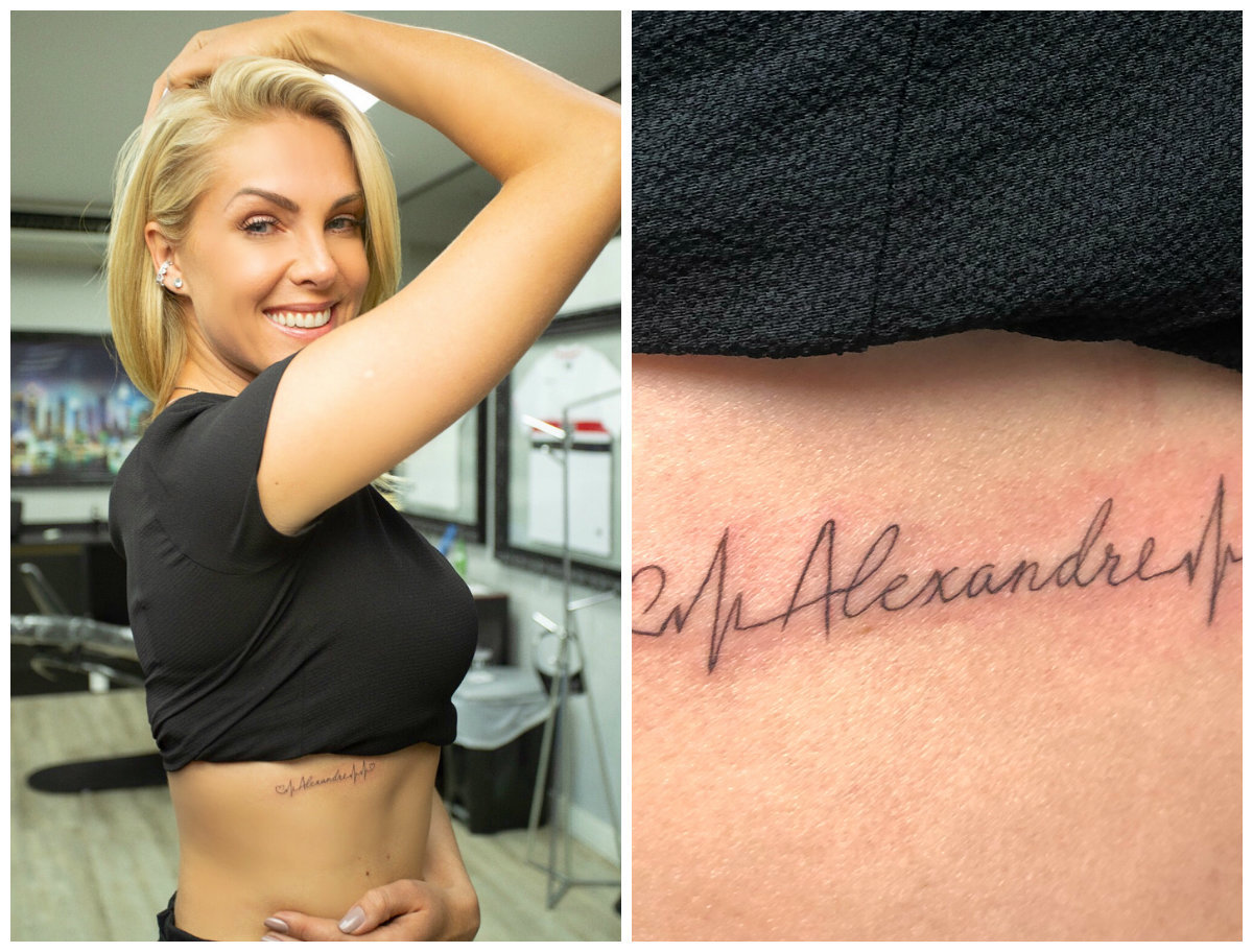 Ana Hickmann Puxa Fila De Famosos Que Fizeram Tatuagem Para