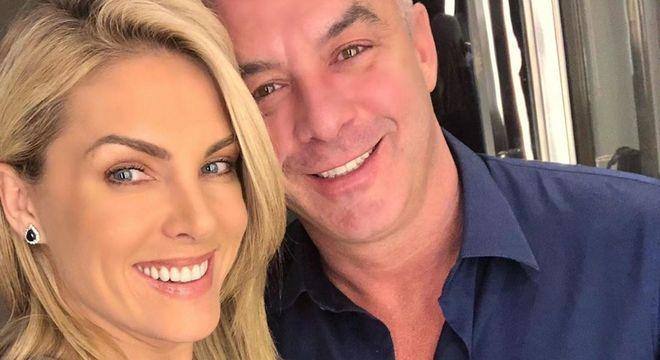 Ana Hickmann postou mensagem para o marido Alexandre Correa